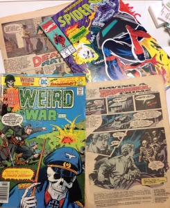 Comic books from my original collection.